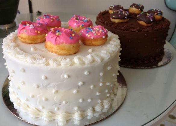 doughnut cake6