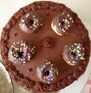 doughnut cake8