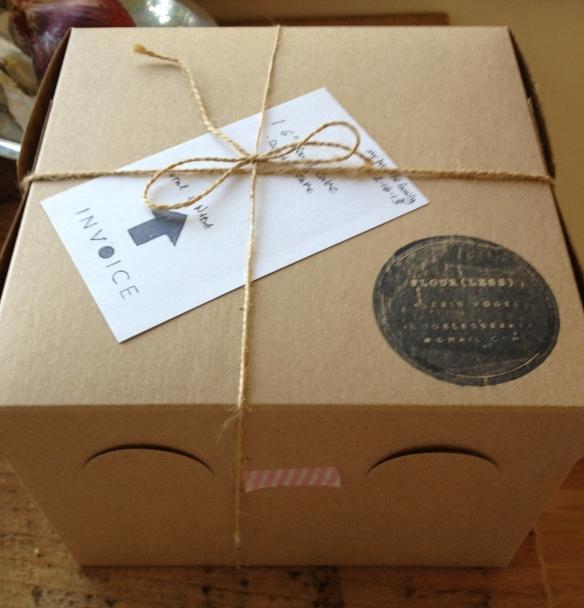 flourless packaging